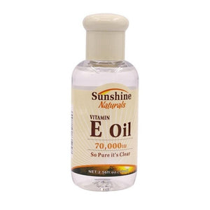 Natural Vitamin E  Oil Organic Anti Aging Morning and Night Serum