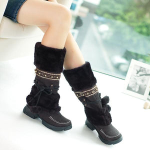 Women's Mid Calf Winter Boots