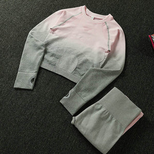 Women Yoga Set Gym Clothing