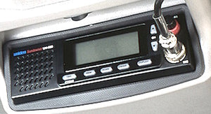 4WD INTERIORS ROOF CONSOLE - TOYOTA LANDCRUISER 70 SERIES SINGLE CAB WITH AIRBAGS 2016 ON (RC70ABCC)