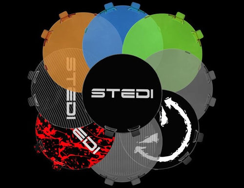 "STEDI TYPE-X PRO & SPORT 8.5"" & 7 "" LED SPOTLIGHT REPLACEMENT COVER - VARIOUS COLOURS"