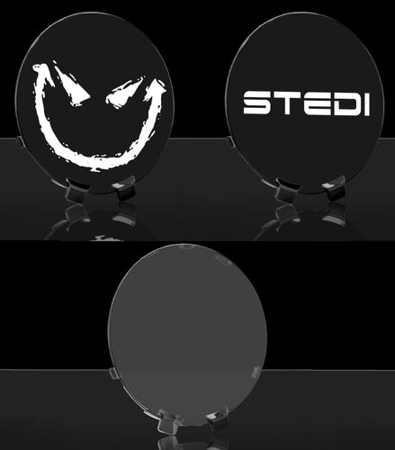 "STEDI TYPE-X SPORT 7"" LED SPOTLIGHT REPLACEMENT COVER - VARIOUS COLOURS"
