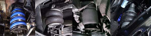 AIRBAG MAN AIRBAGS NISSAN PATROL GQ - Y60 Ute & CC 1988-1999 RAISED 50mm WITH COIL SPRINGS  (CR5042)