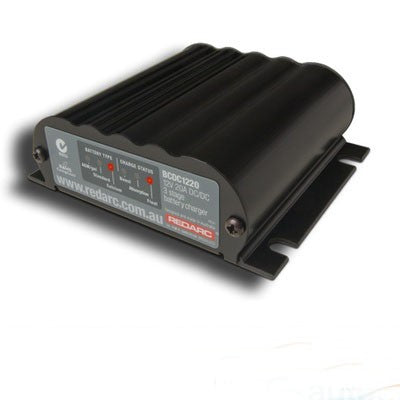 REDARC 20A IN-VEHICLE BATTERY CHARGER (Ignition Control) (BCDC1220-IGN)
