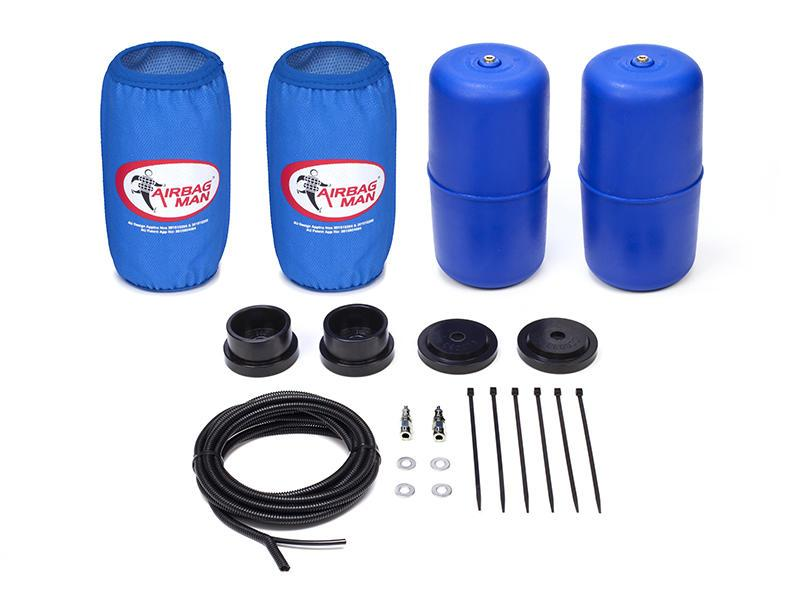 AIRBAG MAN AIR SUSPENSION HIGH PRESSURE HELPER KIT FOR COIL SPRINGS TO SUIT NISSAN PATHFINDER R51 Jul.05-Dec.13 (CR5046HP)