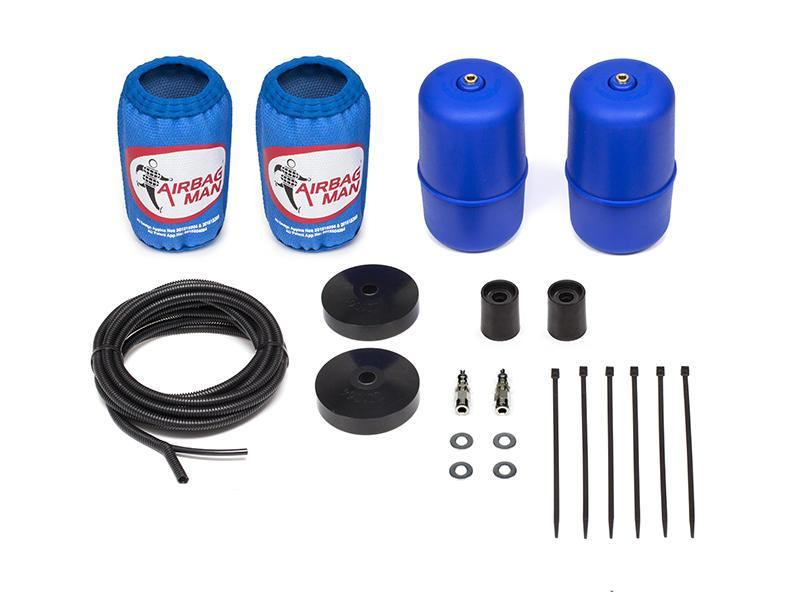 AIRBAG MAN AIR SUSPENSION HIGH PRESSURE HELPER KIT FOR COIL SPRINGS TO SUIT NISSAN PATHFINDER R52 Oct.13-18 (CR5058HP)