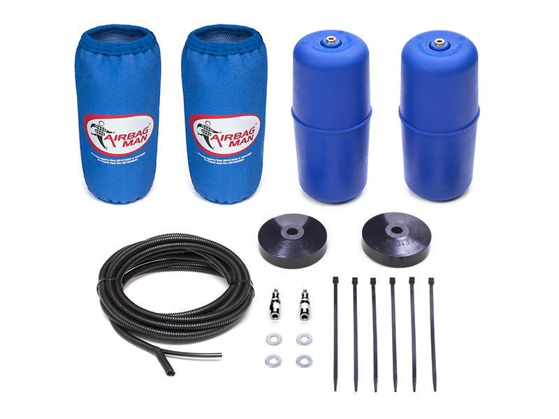 AIRBAG MAN AIR SUSPENSION HIGH PRESSURE HELPER KIT FOR COIL SPRINGS TO SUIT HOLDEN COLORADO 7 RG 13-16 (CR5123HP)