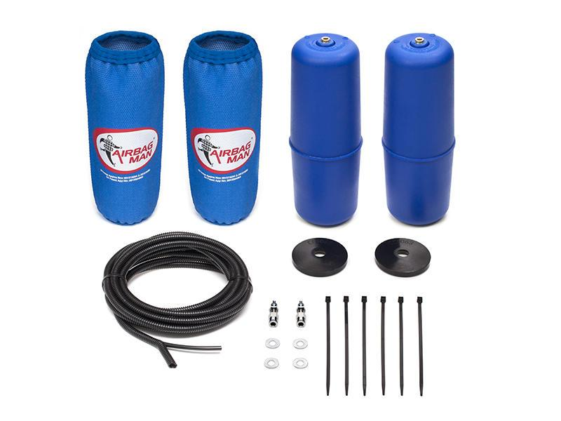 AIRBAG MAN AIR SUSPENSION HIGH PRESSURE HELPER KIT FOR COIL SPRINGS TO SUIT ISUZU MU-X 4x2 & 4x4 13-18(CR5124HP)