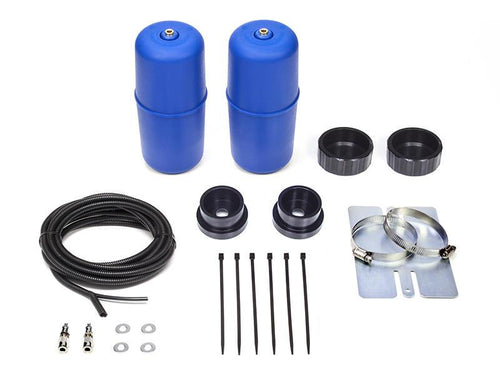 AIR SUSPENSION HELPER KIT FOR COIL SPRINGS TO SUIT MITSUBISHI PAJERO MKIV NS, NT, NW & NX 06-18 RAISED 50mm (CR5130)
