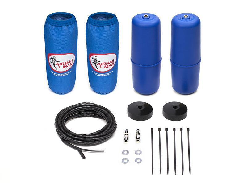 AIRBAG MAN AIR SUSPENSION HIGH PRESSURE HELPER KIT FOR COIL SPRINGS TO SUIT ISUZU MU-X 4x2 & 4x4 13-18 RAISED 50mm (CR5133HP)