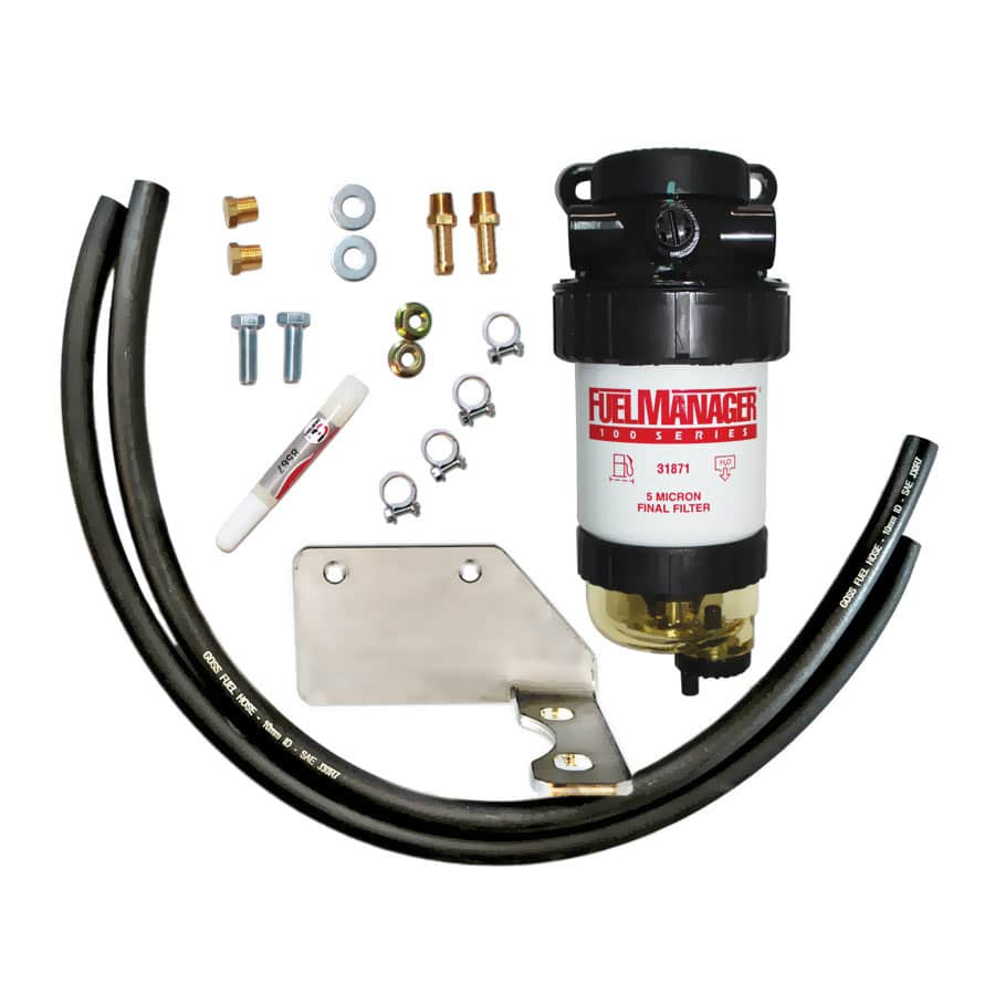 DIESEL CARE PRIMARY (PRE) FUEL FILTER KIT TO SUIT TOYOTA LANDCRUISER 200 SERIES 4.5L, 2007-Current - DCP002