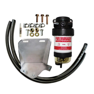 IESEL CARE PRIMARY (PRE) FUEL FILTER KIT TO SUIT TOYOTA LANDCRUISER 200 SERIES 4.5L V8 with 3rd battery 2007-Current - DCP003