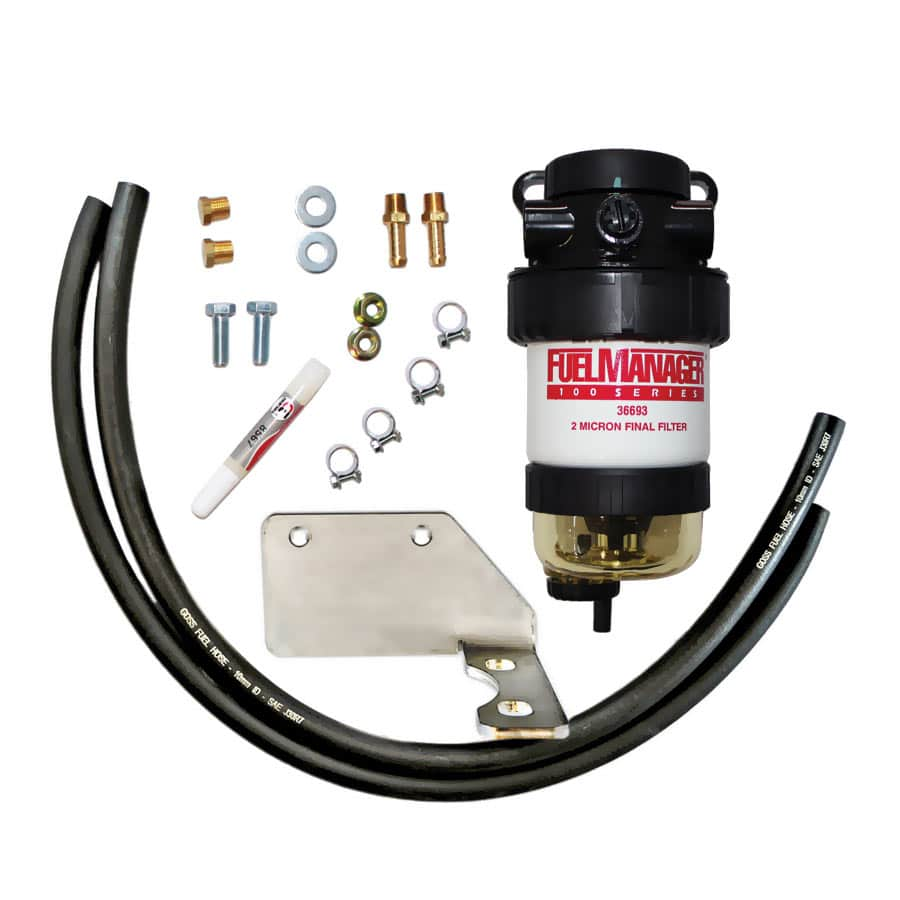 DIESEL CARE PRIMARY (PRE) FUEL FILTER KIT TO SUIT TOYOTA PRADO 120-150 SERIES 3.0L D4D Common Rail, 2005-2012 D4D - DCP006
