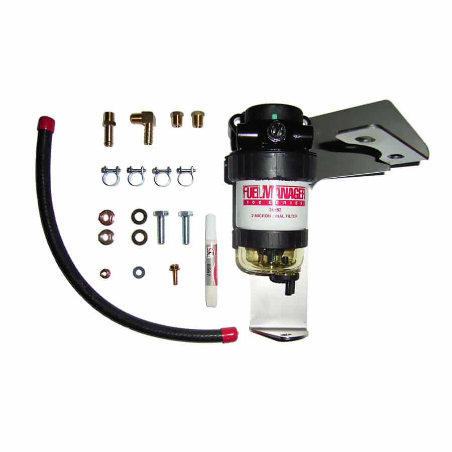 DIESEL CARE PRIMARY (PRE) FUEL FILTER KIT TO SUIT TOYOTA PRADO 150 SERIES FACELIFT 3.0L , 2013-2015 D4D - DCP007