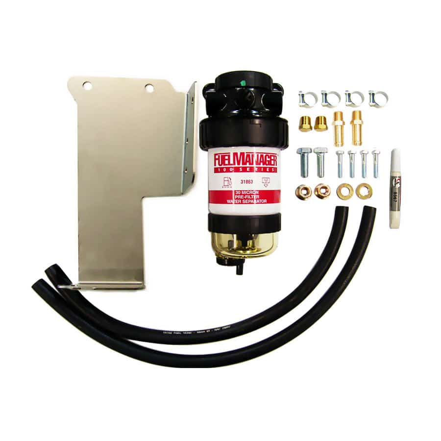 DIESEL CARE PRIMARY (PRE) FUEL FILTER KIT TO SUIT NISSAN NAVARA D40 2.5 Mid 2005-2015- DCP016