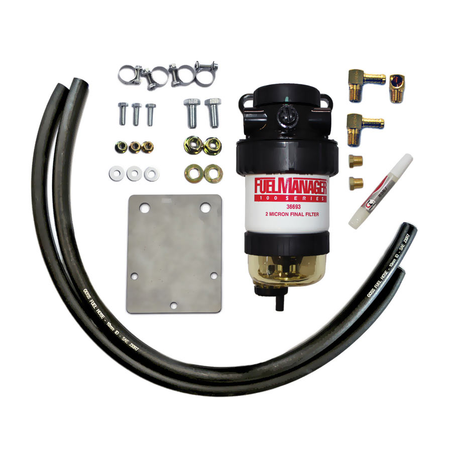 IESEL CARE PRIMARY (PRE) FUEL FILTER KIT TO SUIT NISSAN PATROL 3.0L Common Rail - DCP020