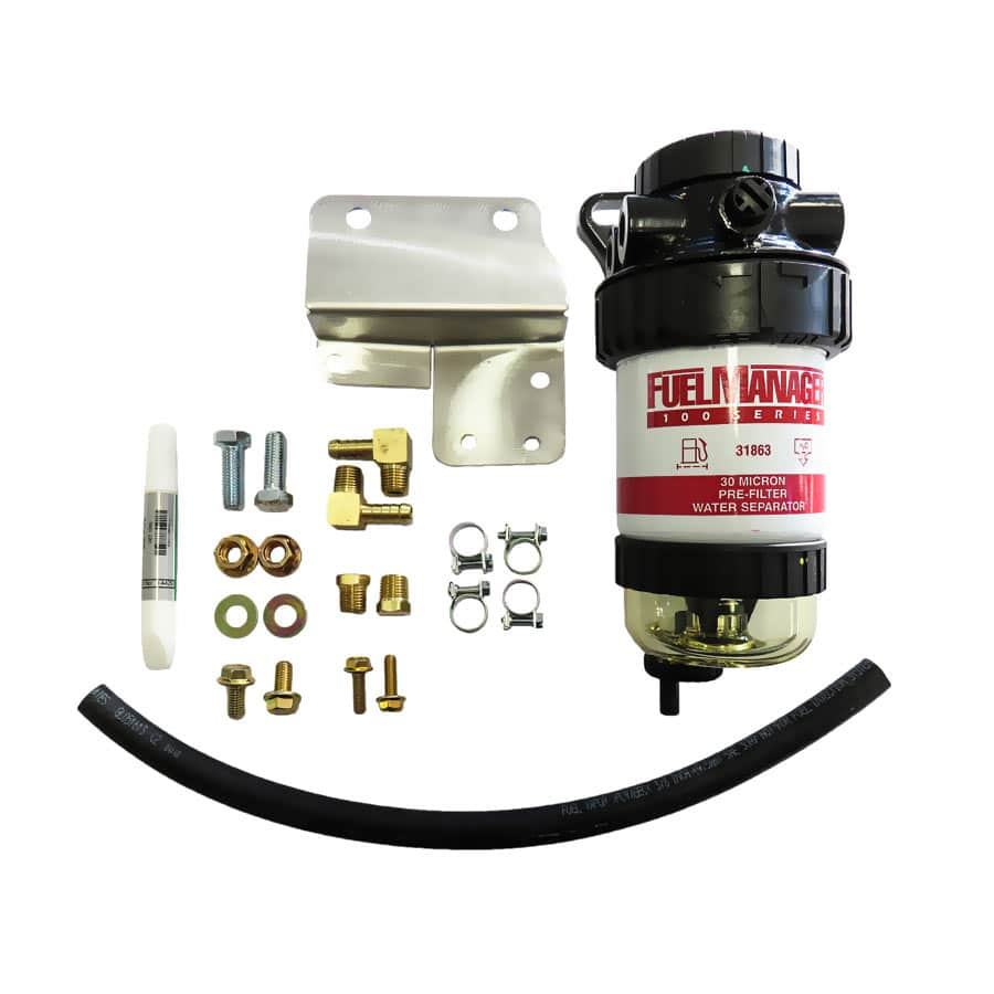 IESEL CARE PRIMARY (PRE) FUEL FILTER KIT TO SUIT NISSAN PATROL 3.0L ZD30 Non Common Rail- DCP021