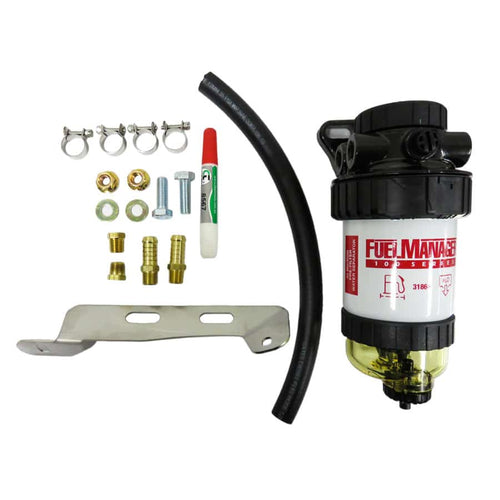 IESEL CARE PRIMARY (PRE) FUEL FILTER KIT TO SUIT ISUZU MU-X 3.0L 130kw 2012-CURRENT - DCP033