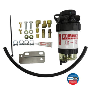 DIESEL CARE PRIMARY FUEL FILTER KIT TOYOTA LANDCRUISER 70 SERIES VDJ79 SINGLE BATTERY (DCP040)