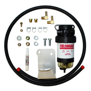DIESEL CARE SECONDARY (FINAL) FUEL FILTER KIT TO SUIT TOYOTA LANDCRUISER 70 SERIES VDJ79 4.5L V8 2007 ON FITTED WITH AIR COMPRESSOR (DCS005)