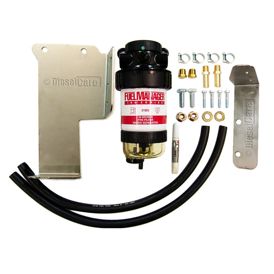 DIESEL CARE PRIMARY (PRE) FUEL FILTER KIT TO SUIT NISSAN PATHFINDER 2.5L Thai Auto- DCP017