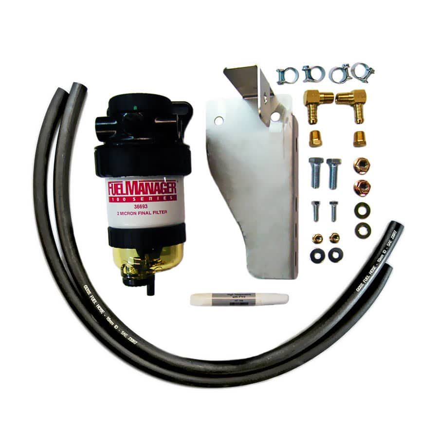 DIESEL CARE SECONDARY (FINAL) FUEL FILTER KIT TO SUIT NISSAN NAVARA 550 V6 (DCS019)