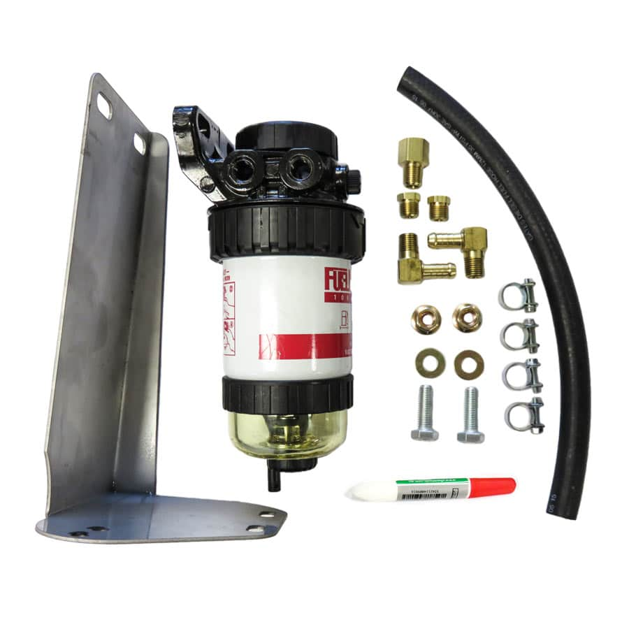 DIESEL CARE SECONDARY (FINAL) FUEL FILTER KIT TO SUIT MITSUBISHI TRITON MQ 2.4L 2015 ON (DCS034)