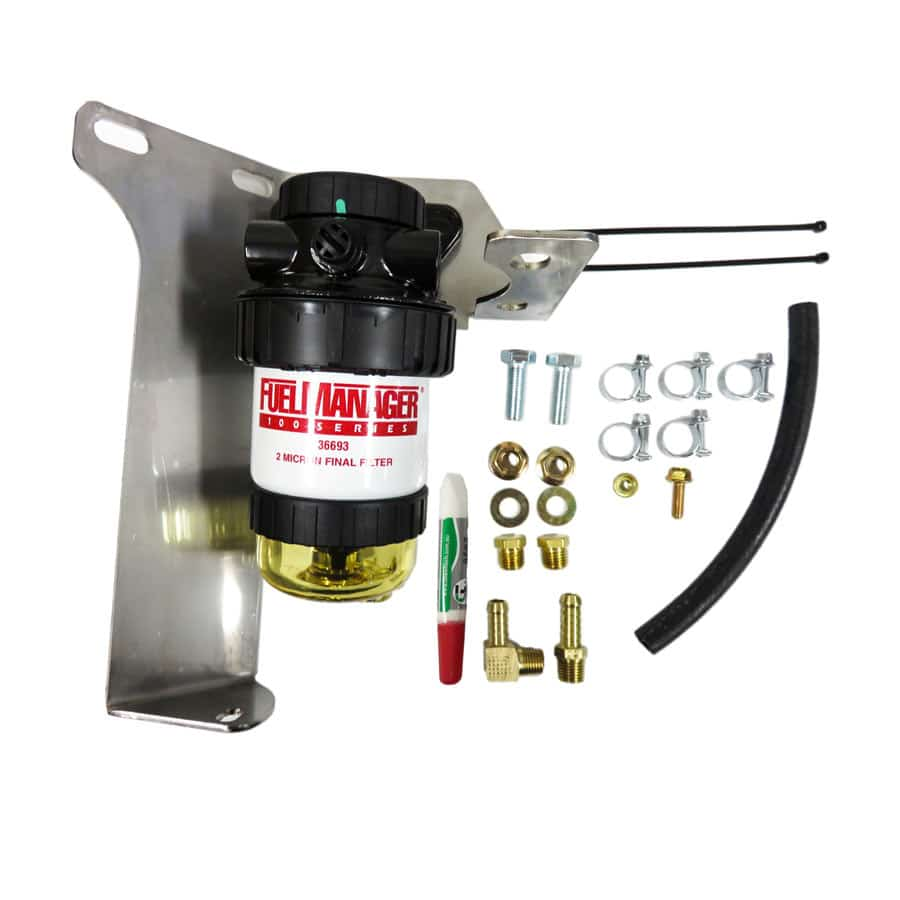 DIESEL CARE SECONDARY (FINAL) FUEL FILTER KIT TO SUIT TOYOTA PRADO 150 SERIES 2.8L (DCS037)