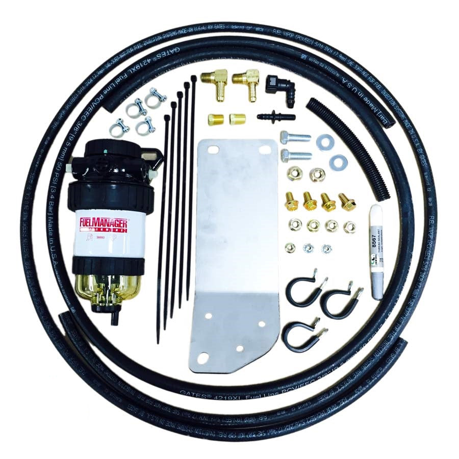 DIESEL CARE SECONDARY (FINAL) FUEL FILTER KIT TO SUIT JEEP GRAND CHEROKEE VM (Fiat) V6 3.0L (DCS039)