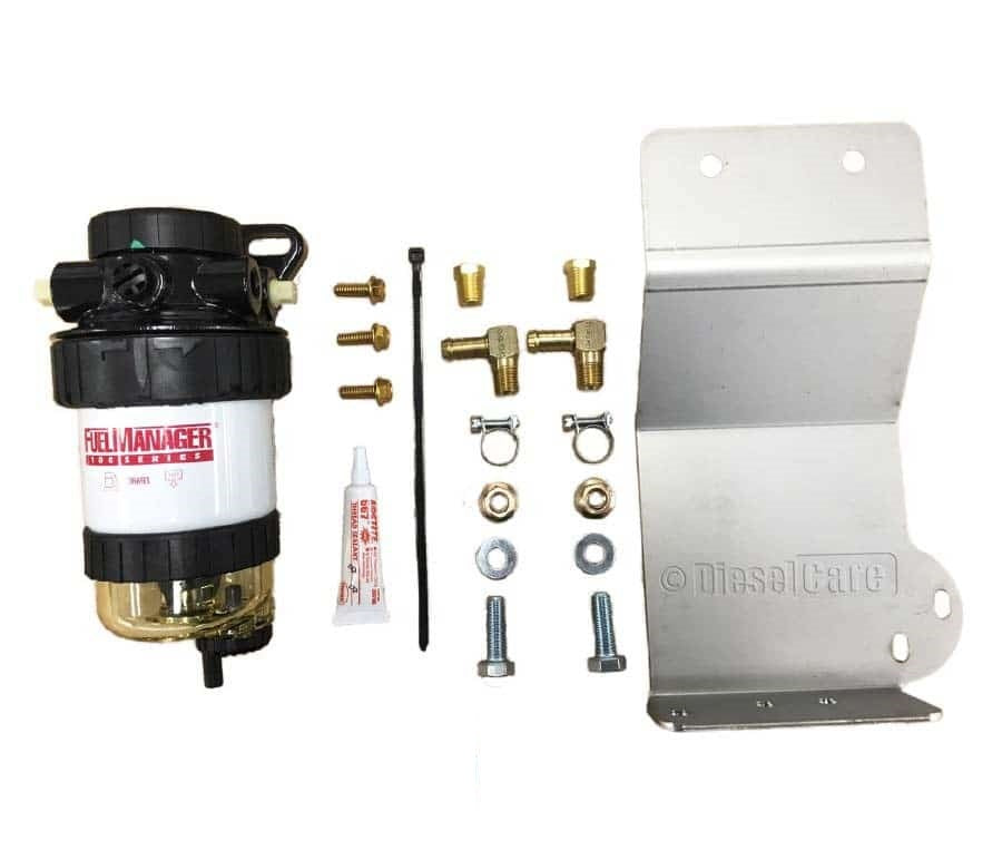 DIESEL CARE SECONDARY (FINAL) FUEL FILTER KIT TO SUIT ISUZU MU-X 3.0L 4CYL (DCS044)