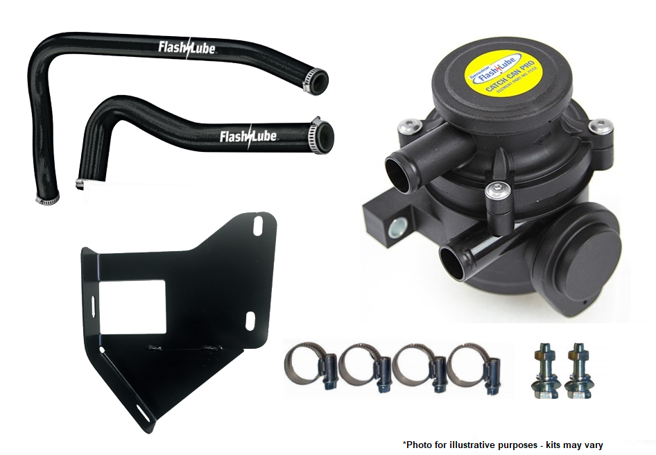 FLASHLUBE CATCH CAN PRO KIT TO SUIT HOLDEN COLORADO COLORADO/COLORADO 7 – RG 06/12 ON - FCCKT10