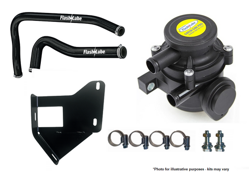 FFLASHLUBE CATCH CAN PRO KIT TO SUIT MITSUBISHI TRITON ML/MN 2006 ON- (FCCKT14)