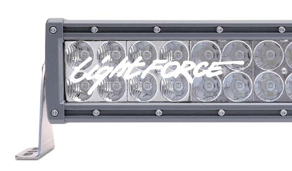 "LIGHTFORCE 6"" DUAL ROW LED BAR 152MM COMBO (CBLEDBD6C)"