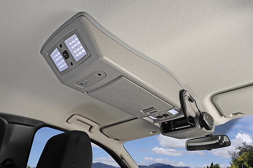 OUTBACK ROOF CONSOLE TO SUIT MAZDA BT-50 EXTRA CAB 2007-2011 (RCMA07EC)
