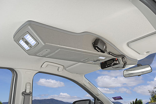OUTBACK ROOF CONSOLE TO SUIT FORD RANGER MK2 DUAL CAB 2015 ONWARDS (RCPXMK2)