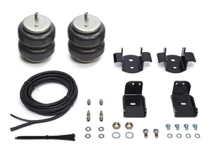 AIRBAG MAN AIR SUSPENSION HELPER KIT FOR LEAF SPRINGS SUIT TOYOTA HILUX INCL. VIGO/REVO JUL.15-18 4X4 GGN125R, GUN125R, GUN126R (RR4683) RAISED 40-50mm