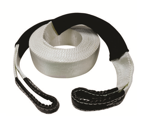 ROADSAFE SNATCH STRAP - 8000kg (SB602) WHITE/BLACK