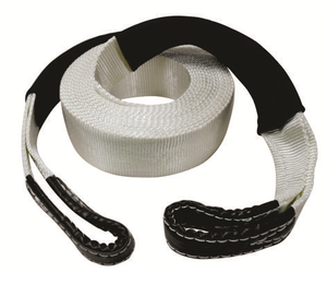 ROADSAFE SNATCH STRAP - 11000kg (SB603) WHITE/BLACK