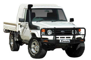 SAFARI SNORKEL TO SUIT TOYOTA LANDCRUISER 70 SERIES TO 2007 HZJ Diesel, Does Not Suit Models With Factory Fitted Raised Air Intake (SS78RZ)