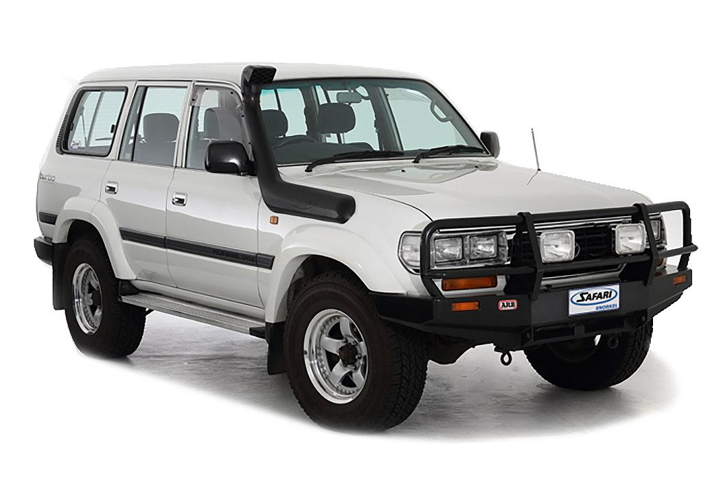 SAFARI SNORKEL TO SUIT TOYOTA LANDCRUISER 80 SERIES 01/90 To 03/98 All Models (SS82R)