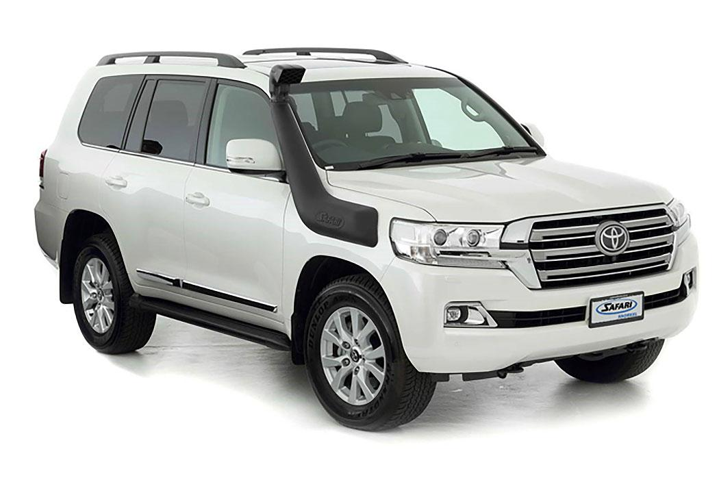 SAFARI SNORKEL TO SUIT TOYOTA 200 SERIES LANDCRUISER 10/15 Facelift Model Replacement Of OE Factory Fitted Raised Air Intake Inc. GX (SS89HPR)