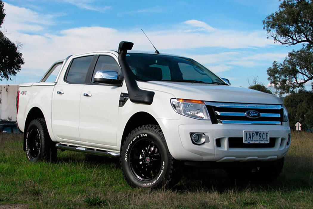 SAFARI SNORKEL TO SUIT FORD RANGER PXIII, PXII & PX Ranger 08/11 On 3.2L-TDCi Diesel, P4AT & P5AT Engines (SS982HF)