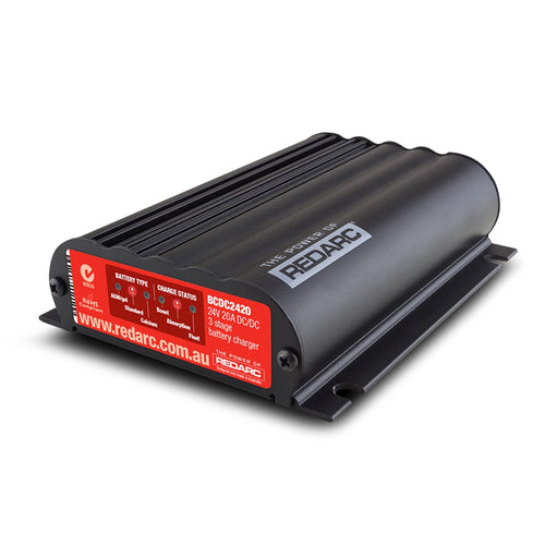 REDARC 24V 20A IN-VEHICLE DC BATTERY CHARGER (BCDC2420)