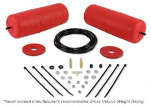 POLYAIR RED BAG KIT TO SUIT NISSAN PATHFINDER R51 (RAISED 25-40MM) 2005 - 2014 (19998)