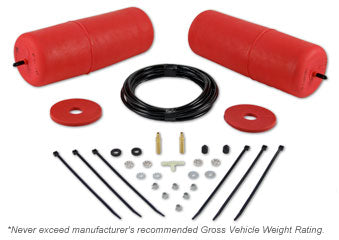 POLYAIR RED BAG KIT TO SUIT JEEP WRANGLER SPORT & RENEGADE TJ (COIL SPRING REAR) 1996 - 2006 (15692)
