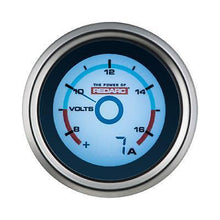 Load image into Gallery viewer, REDARC SINGLE VOLTAGE 52MM GAUGE WITH OPTIONAL CURRENT DISPLAY (G52-VA)