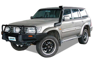 SAFARI SNORKEL TO SUIT NISSAN PATROL GU Series 1 11/97 To 03/00 Dsl. 4.2L TD42-I6  (SS15HFD)