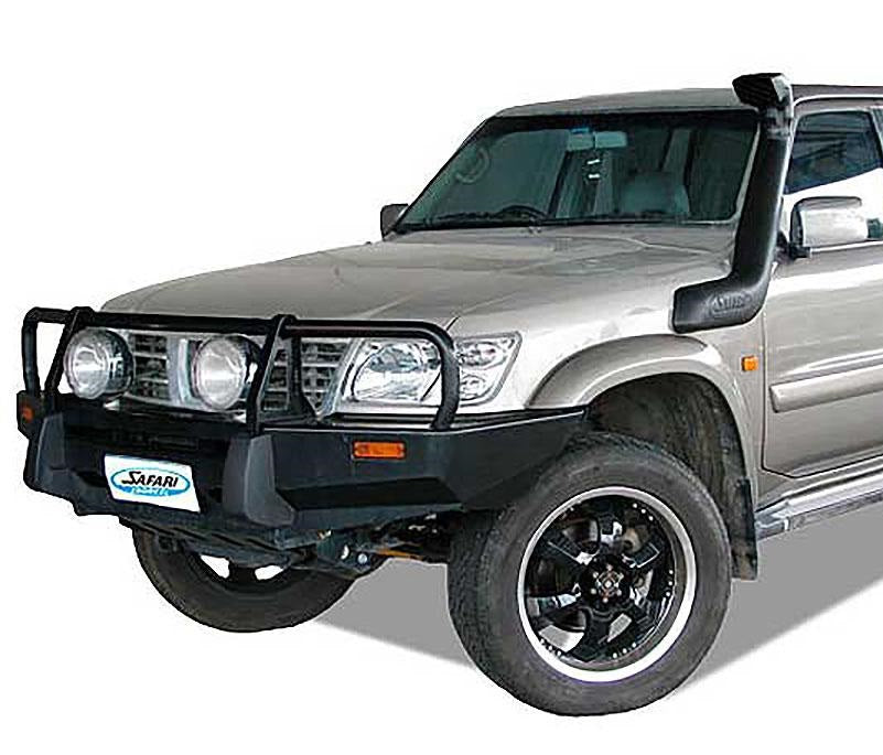 SAFARI SNORKEL TO SUIT NISSAN GU PATROL UTE Series 1, 2 & 3 11/97 To 11/06, Dsl. 4.2L TD42, TD42-Ti  (SS15R)