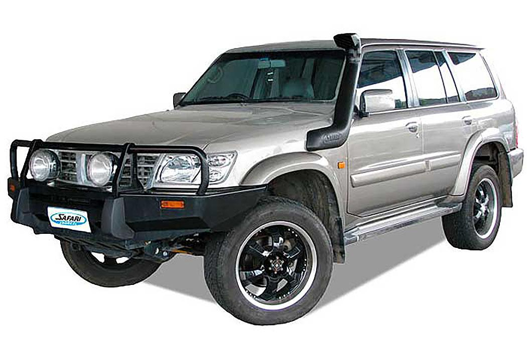 SAFARI SNORKEL TO SUIT NISSAN GU PATROL WAGON Series 2 & 3 04/00 To 08/04 Dsl. TD42-Ti & TD42-T, 3.0L ZD30DDT (SS16R)