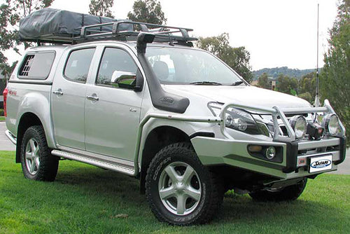 SAFARI SNORKEL TO SUIT ISUZU DMAX 06/12 On 4JJ1-TC 3.0L-I4 & Turbo Diesel Models (SS175HF)